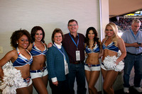 Photos with the Thunder Girls