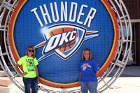 Thunder Alley- Round Thunder Backdrop